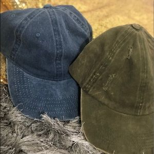 Fashionable Cap 🧢 | Jean/Green| 2 for 1